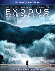 Exodus: Gods and Kings [Includes Digital Copy] [Blu-ray] [2014]
