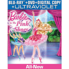 Barbie in the Pink Shoes Blu-Ray DVD