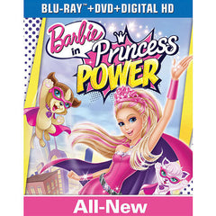 Barbie in Princess Power Blu-Ray Combo Pack (Blu-Ray/DVD/Digital HD)