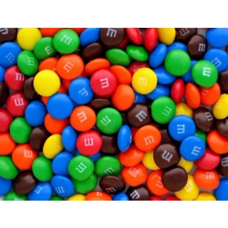 Ten (10) Full Pounds of Original Plain M&M's   Heat Sealed in a ...