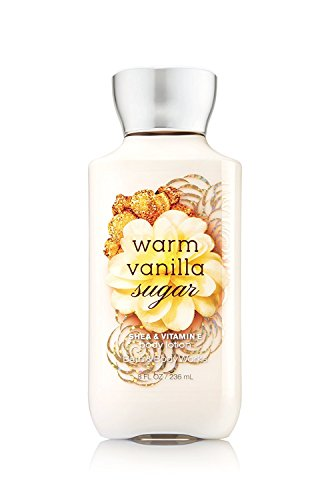 Bath & Body Works Warm Vanilla Sugar Body Lotion   8 oz.   signa...