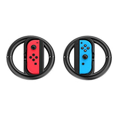GameWill Joy-Con Wheel for Nintendo Switch Controller-Black (Set of 2)