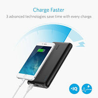 Anker PowerCore Speed 20000 QC, Qualcomm Quick Charge 3.0 Portable Charger, Backwards Compatible With Quick Charge 1 & 2, with Power IQ, 20000 mAh Power Bank for Samsung, iPhone, iPad and More