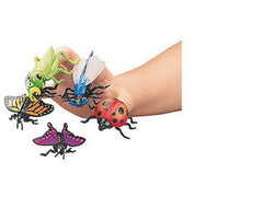 12 Insect Finger Puppet Party Favors