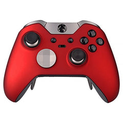 eXtremeRate® Red Soft Touch Replacement Shell Front Faceplate Cover for Xbox One Elite Controller