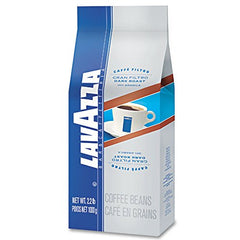 Lavazza Gran Filtro Dark Italian Roast Coffee, Whole Bean