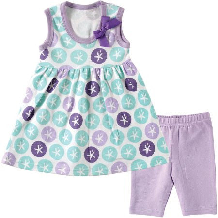 Hudson Newborn Baby Girls' Dress and Leggings, Choose Your Color & Size