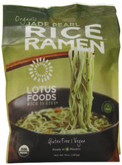 Lotus Foods Organic Rice Ramen Noodles, Jade Pearl Rice, 10 Ounce (Pack of 6)