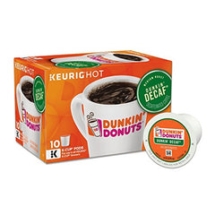 Dunkin' Donuts Decaffeinated Coffee KCups, 60 Count