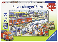 2 puzzles - Agitation at the station