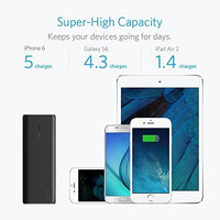 Anker PowerCore 15600 mAh External Battery Pack for All Smartphones - Black