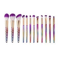 12 PCS Makeup Brushes, Emubody Make Up Blush Foundation Eyebrow Eyeliner Concealer Brushes Sets