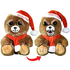 Ebeneezer Claws Christmas Feisty Pet - Squeeze & Reveal Furious Fanged Bear