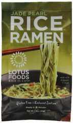 Lotus Foods Rice Ramen Noodles, Jade Pearl Rice, 2.8 oz (Pack Of 10)