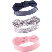 Yoga Sprout Newborn Baby Girls' Headband 3-Pack, Choose Your Color