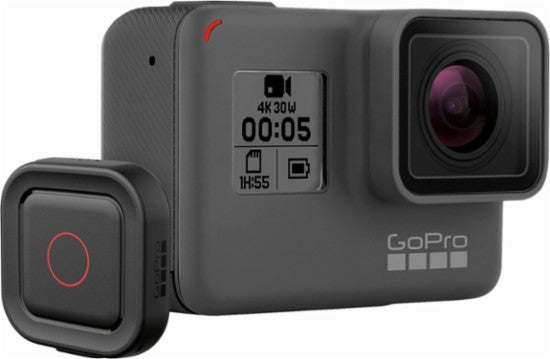 GoPro - HERO5 Black 4K Action Camera with Remote