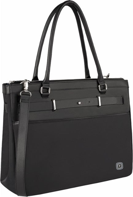 SwissGear - ZOE Women's Laptop Tote - Black