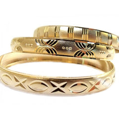 Girls Gold Bangle Bracelets