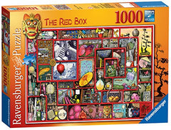 1000 Piece The Red Box By Colin Thompson Puzzle