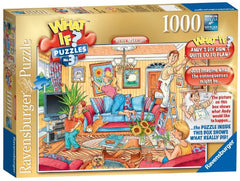 1000 Piece What If? Jigsaw puzzle with picture of what Andy Mann would like to happen