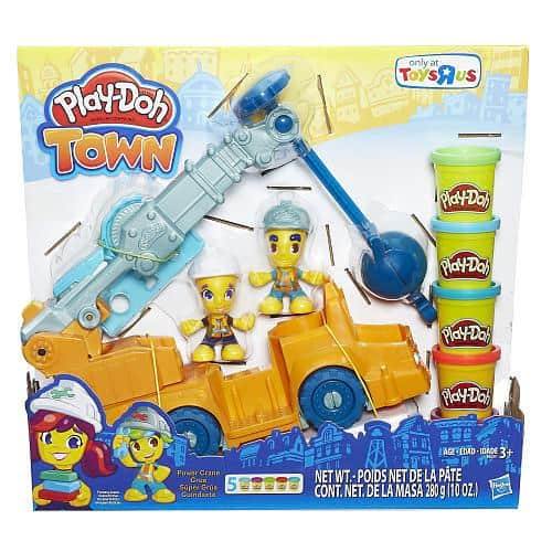 Play-Doh Town Power Crane Playset (Colors/Styles Vary)