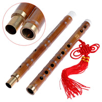 1pkg Vintage Traditional Handmade Chinese Musical Instrument Bamboo Flute/dizi in C Key