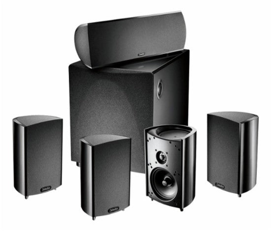 Definitive Technology - ProCinema 600 5.1-Channel Home Theater Speaker System