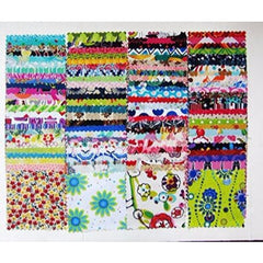100 Assorted Pre Cut Charm Pack 5
