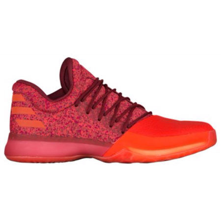 ADIDAS HARDEN VOL. 1 - MEN'S - Red/Orange