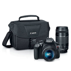 Canon EOS Rebel T6 Digital SLR Camera with EF 75-300mm