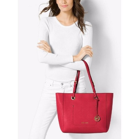 Michael Kors Walsh Large Saffiano Leather Tote