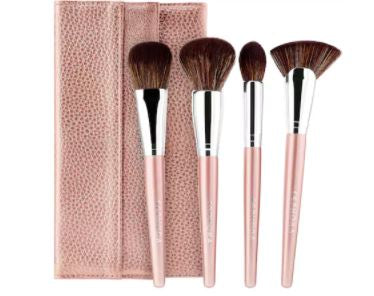 Product Description A four-piece set of essential makeup brushes, plus a...