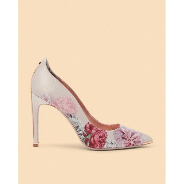 Ted Baker - Hallden Printed Satin Pumps