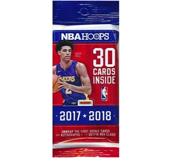 2017/18 Panini Hoops NBA Basketball Huge Factory Sealed Jumbo Fat Pack
