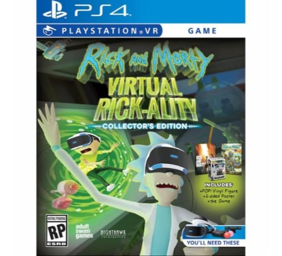 Rick and Morty: Virtual Rick-ality Collector's Edition - PlayStation 4