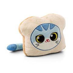Cat Bread Plush Pillow