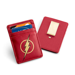 The Flash Justice League Card Wallet with Money Clip - Exclusive