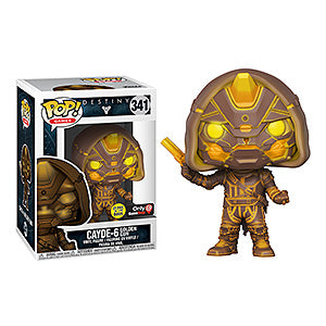 Funko POP! Destiny 2 Cayde with Golden Gun Vinyl Figure - Exclusive