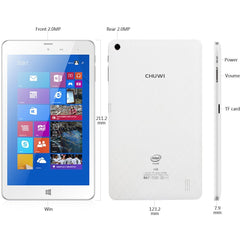 CHUWI Hi8 Pro 8 Inch IPS Full HD Screen Windows 10 + Android 5.1 Tablet PC