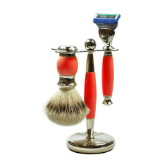 3 Piece Vintage Shaving Set for Fusion Spare Blades