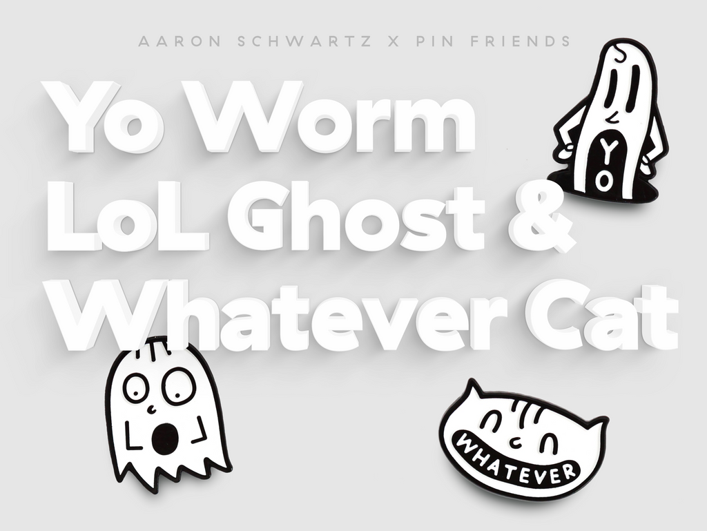 Aaron Schwartz x Pin Friends
