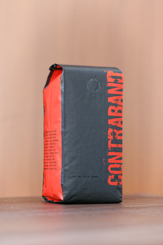 Contraband Coffee: A must try from San Francisco