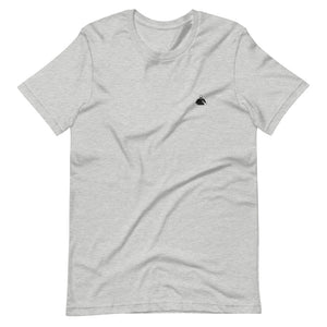 Heather and Black Silhouette Short-Sleeve T-Shirt