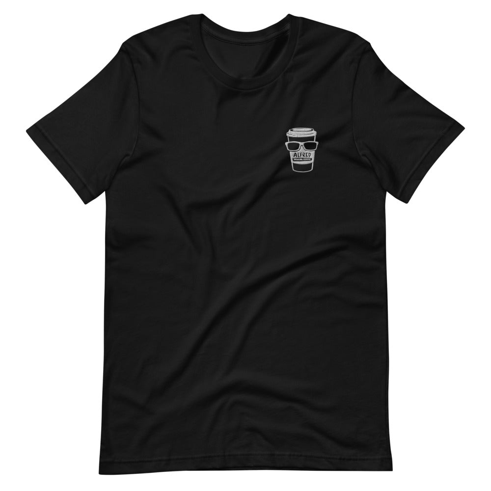Black Short-Sleeve T-Shirt