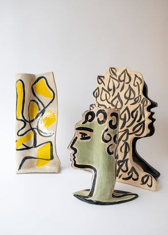 Florence Bamberger ceramic sculptures