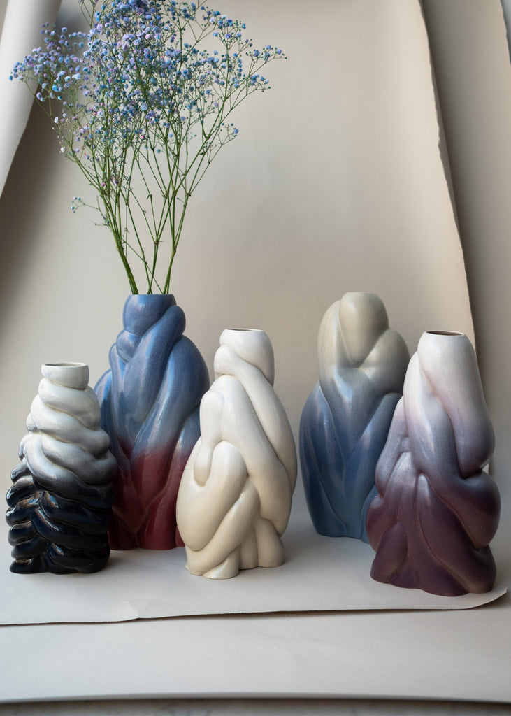 Polymorf Bubbler vase collection