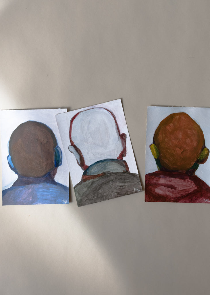 Emma Wiik painting triptych