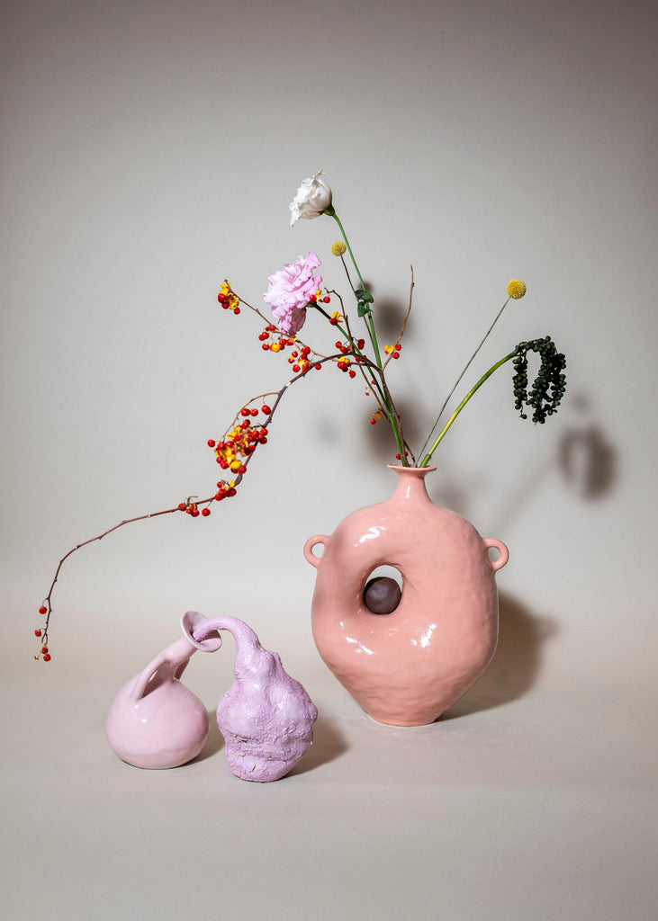 Fanny Ollas Emotional Pieces Pink Vases