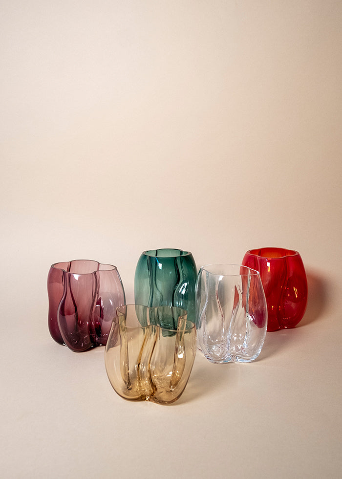 LACC Soba glass vases group
