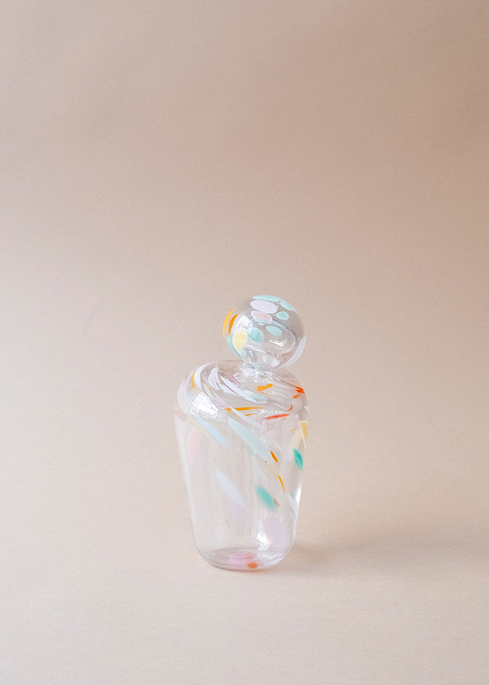 Malin Pierre Candy Jar Glass Vessel